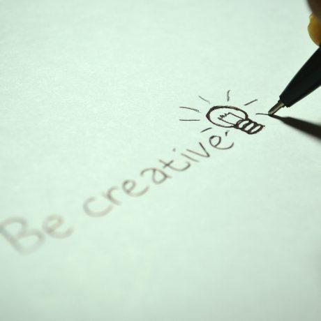 be creative written text